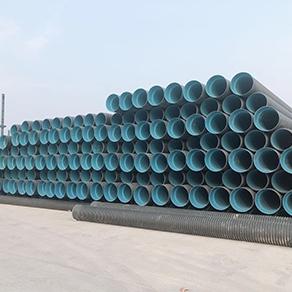 HDPE双壁波纹管供应